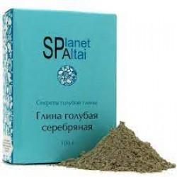 Глина голубая Серебряная Planet SPA 200 гр