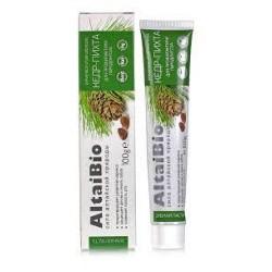 Паста зубная для профилактики парадонтоза Кедр - Пихта Altaibio 75 мл