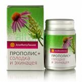 Апифитокомплекс Прополис+Солодка и Эхинацея Пчела и человек 33 гр