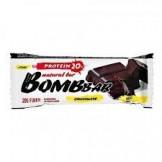 Батончик неглазированный двойной шоколад bombbar 60 гр