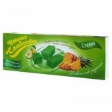 Конфеты желейные со вкусом ананас-зеленая груша Умные сладости 90 гр