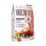 Мюсли мультизлаковые с пророщенной пшеницей и ягодами Фруктовая Энергия 310 гр