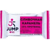Конфета орехово-фруктовая со вкусом Сливочная карамель ONE JUMP 30 гр