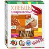 Хлебцы амарантовые с гречей Ди энд Ди 195 гр