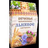 Печенье Льняное песочное с расторопшей на фруктозе Дивинка 300 гр