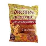 """Печенье Овсяное цельнозерновое с изюмом """"Дивинка"""" 300 гр"""