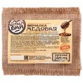 Мочалка льняная Медовая Алтын 130 гр